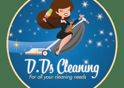 D.D's Cleaning – Logo Design