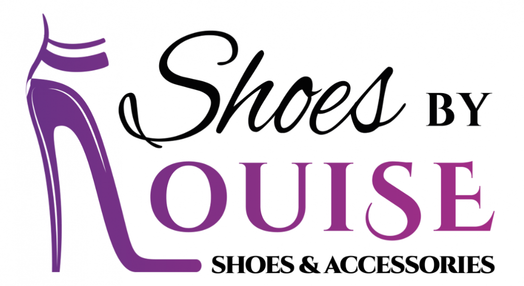 Shoes by Louise logo design