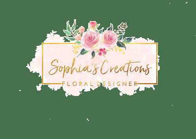 Sophia's Creations – Branding & Logo Design